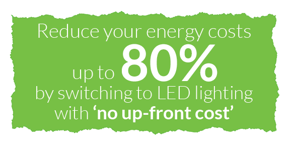Reduce energy costs up to 90% with LED Lighting