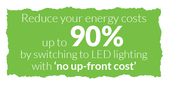Reduce energy costs up to 90% with energy efficiency warehouse lighting