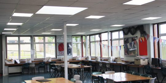 Wadham School LED Lighting