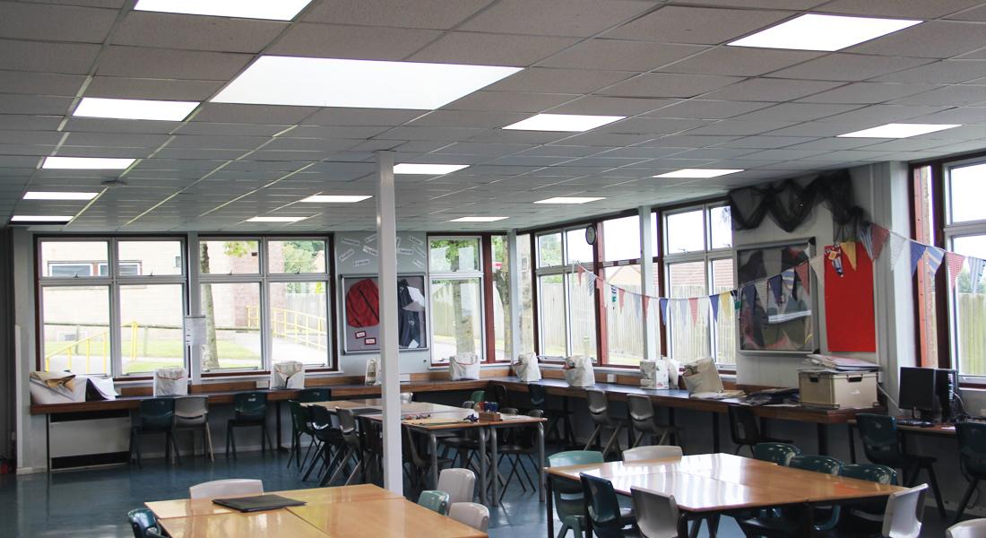 Wadham School led lighting project